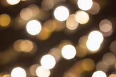 City lights in the background with blurring lights royalty free stock photography