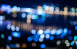 City lights background. Stock Photos