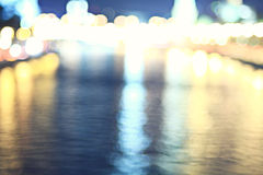 City ​​lights blurred Royalty Free Stock Images