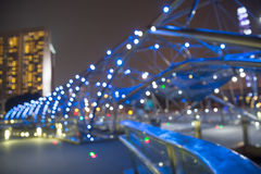 City lights bokeh  blurred background Royalty Free Stock Photo