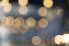 City lights bokeh Royalty Free Stock Photos