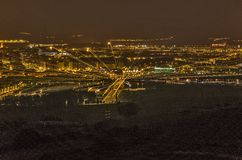 City lights Royalty Free Stock Images