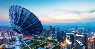 City Lights, Nanchang, China Royalty Free Stock Photos