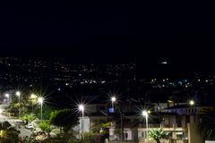 city lights night στοκ εικόνες με δικαίωμα ελεύθερης χρήσης