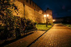 City lights. In the night Stock Photography