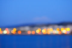 City lights Stock Photography