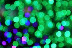 City lights. Night of the city, there are a lot of light, beautiful bokeh royalty free stock photography