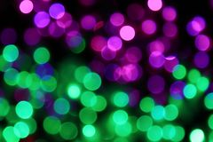 City lights. Night of the city, there are a lot of light, beautiful bokeh royalty free stock images