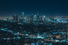 City Lights during Night Time Stock Image
