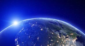 City lights - North America Stock Photo