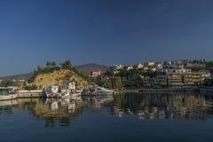 City Limenas. Port of beautifull city Limenas Stock Photography