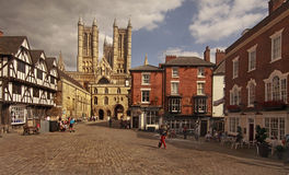 The city of Lincoln Stock Photography