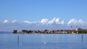 City of Lindau at Bodensee, Germany Stock Photo