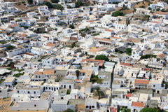 City of Lindos, Greece Stock Photos