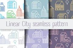 City Line seamless Stock Image