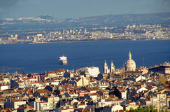 City of Lisbon. Panoramic view of the City of Lisbon, Portugal, EU Royalty Free Stock Image