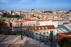 City of Lisbon from Above in Portugal Stock Images