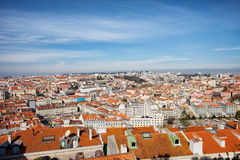 City of Lisbon Cityscape in Portugal Stock Photos