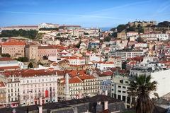 City of Lisbon Cityscape Royalty Free Stock Image