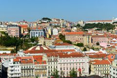 City of Lisbon, Portugal Stock Image