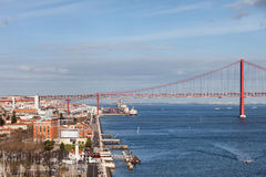 City of Lisbon in Portugal Stock Images