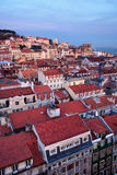 City of Lisbon at Twilight Royalty Free Stock Image