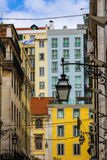 City living in Lisbon Portugal Royalty Free Stock Photo