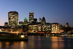 City of London, Financial District Stock Photos