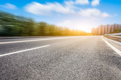 City location and road Stock Photography