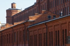 City of Lodz, renovated factory. Royalty Free Stock Photography