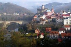 City Loket nad Oh�í, Czech Republic Royalty Free Stock Images