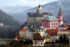 City Loket nad Oh�í, Czech Republic Stock Photo