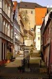 City Loket nad Ohří, Czech Republic Stock Photos