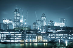 City of London. One of the leading centres of global finance.this view includes :Tower 42 Gherkin,Willis Building, and Stock Exchange Tower stock photos