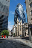 City of London. Landmark ion the city of London royalty free stock photo