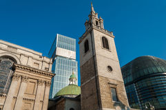 CIty of London Architecture Royalty Free Stock Photography