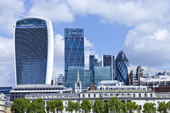 City of London cityscape with landmark buildings Stock Photo