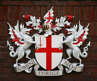 City of London Coat of Arms Stock Photos