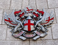 City of London Coat of Arms Stock Image