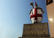 City of London crest Royalty Free Stock Image
