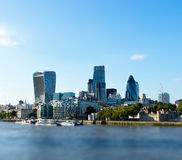 City of London. Day time photo city of London Royalty Free Stock Image