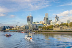 City of London daylight Royalty Free Stock Photo
