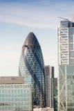 City of London at dusk, UK Stock Photo