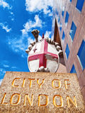 City of London Emblem Stock Photo