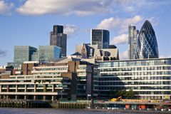 City of London financial district Stock Photography