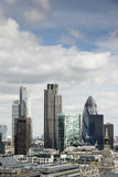 City of London, its financial district Stock Photography