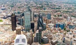City of London. Leading center of global finance Stock Image