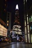 city london night 21 12 2015 Στοκ Εικόνες