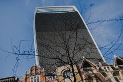 City of london office buildings uk Royalty Free Stock Images