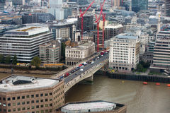 City of London panorama, London bridge Stock Photos